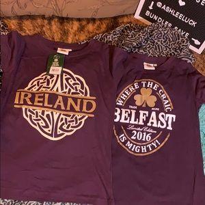 Both new Ireland t's
